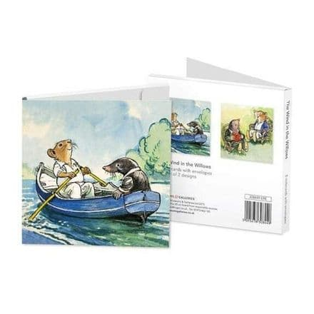 8 Blank Notecards / Notelets 2 ass  - Wind in the Willows